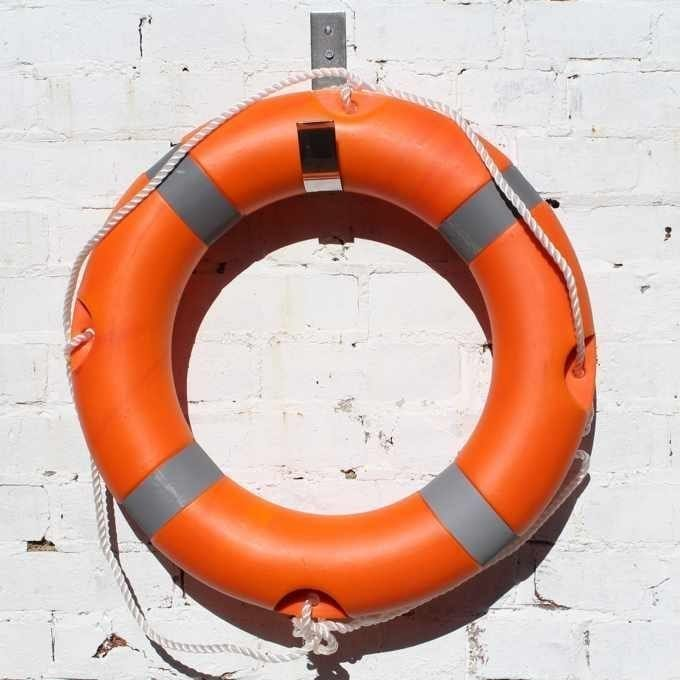 24 Inch Lifebuoy With Mounting Hook