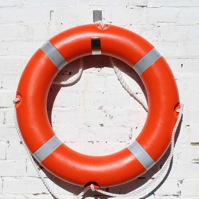 30 inch Lifebuoy Ring With Mounting Hook