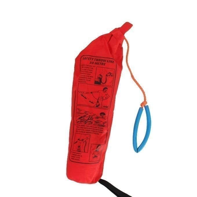 Throw Line Bag with 30 Meter Floating Rope