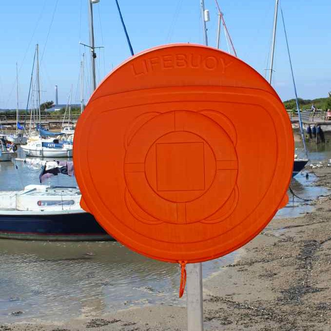 Lifebuoy Housing Cabinet With Cover